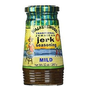 Walkerswood Jamaican Jerk Seasoning (Mild) - 10 oz - (PACK OF 3)