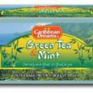 Caribbean Dreams Green Tea & Mint (Pack of 3)