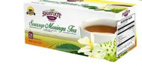 Jamaican Shavuot Soursop Moringa Tea (pack of 3)