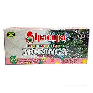 JAMAICA SIPACUPA MORINGA TEABAGS (PACK OF 6)