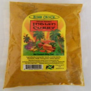JAMAICAN HOME CHOICE INDIAN CURRY 200G (Pack of 3)