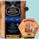 JAMAICA BLUE MOUNTAIN COFFEE & TORTUGA RUM CAKE (PACK OF 2)