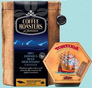 JAMAICA BLUE MOUNTAIN COFFEE & TORTUGA RUM CAKE (PACK OF 2)