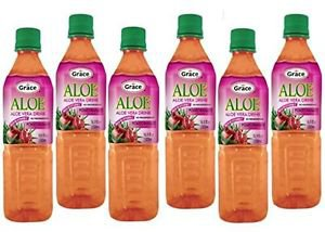 GRACE ALOE VERA JUICE WITH POMEGRANATE (PACK OF 6)