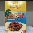 ISLAND SPICE COAT AND BAKE - JERK PORK (PACK OF 6)