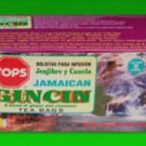 TOPS JAMAICAN  GINCIN DIABETIC TEABAGS (PACK OF 3)