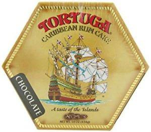 TORTUGA CARIBBEAN CHOCOLATE RUM CAKE 16 OZ
