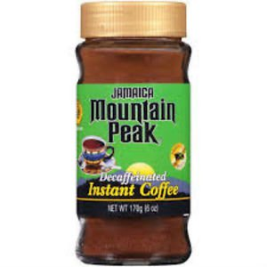 Jamaica Mountain Peak Instant Jamaican Coffee Decaffeinated 6 oz (pack of 3)
