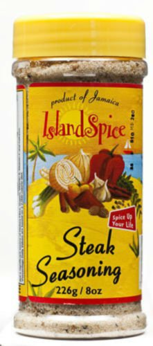 ISLAND SPICE STEAK SEASONING 8 OZ (3 PACKS)