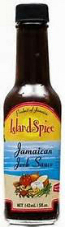 Island Spice Jamaican Jerk Sauce 5 oz (12 Pack)