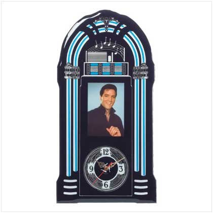 Elvis Junebox Wall Clock
