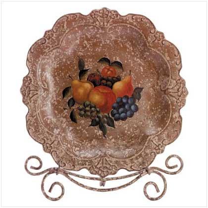 Fruit Design Display Plate