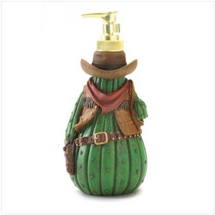 Cowboy Cactus Lotion Dispenser