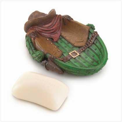 Cowboy Cactus Soap Dish