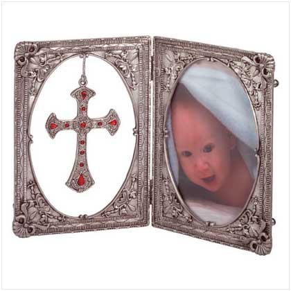 Cross Pendant Picture Frame
