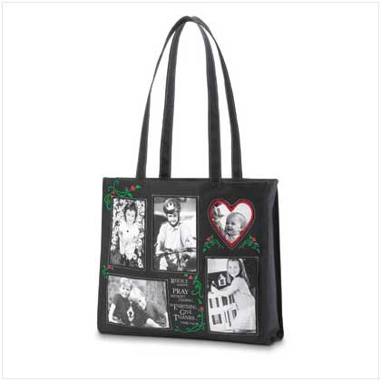 """Rejoice"" Photo Tote Bag"