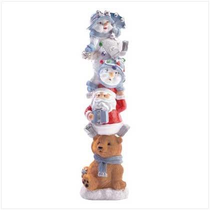 Holiday Totem Pole
