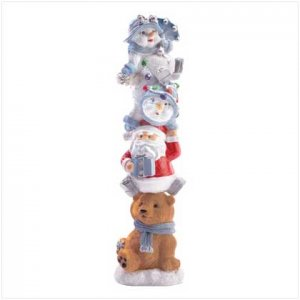 Holiday Totem Pole