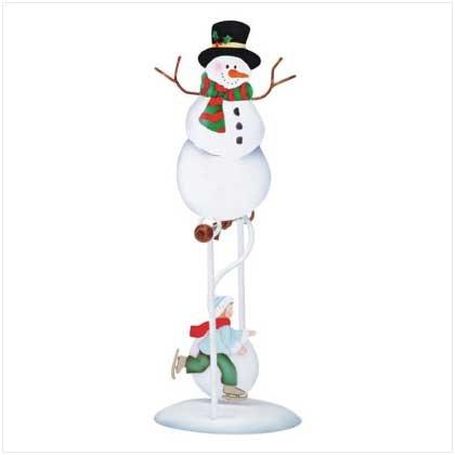 Swinging Snowman Skater