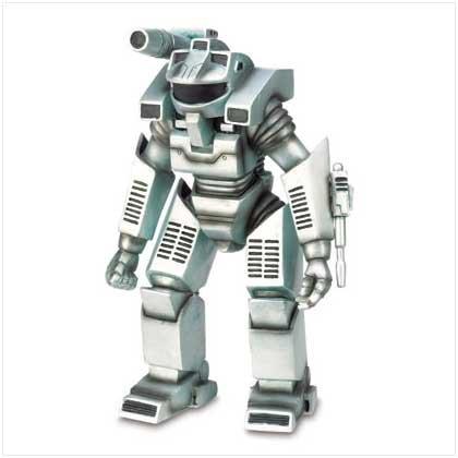 Fighter Robot Figurine