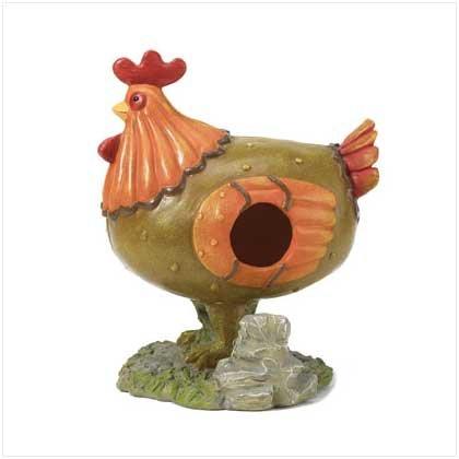 Chicken Bird House On Stand