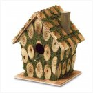 Moss Edged Birdhouse