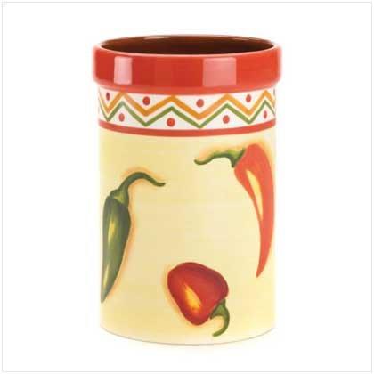 Chili Pepper Utensil Holder