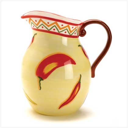 Chili Pepper Pitcher