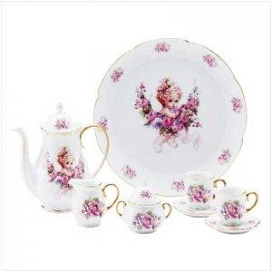 Pink Rose Mini Tea Set