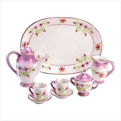 Mini Floral Tea Set