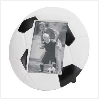 Soccer Ball Resin Photo Frame