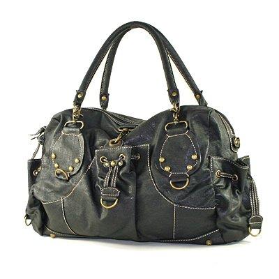 Black urban outfitters emo Sling messenger Bag purse