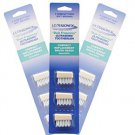BH03A Compact Design Replacement Ultrasonic Toothbrush Head - 3 pcs/set