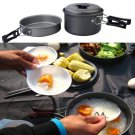 Outdoor Camping Cookware Cooking Set for 1-2 Person cb