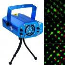 Twinkling Laser Portable Mini Stage Lighting Laser Porjector