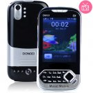 Dual Band 3.5inch Resistance Touch Screen Cell Phone with TV Function