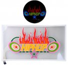 Hip Hop Fire Car Sticker Sound Music Activated/Equalizer Glow LED