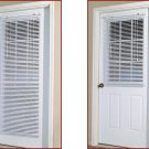 "Magnetic Full Door blind 25"" x 68.5""   for  Steel door"