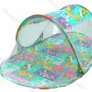 Sun, Dust Baby Canopy Foldable Baby Crib With Mosquito Net Tent Bed