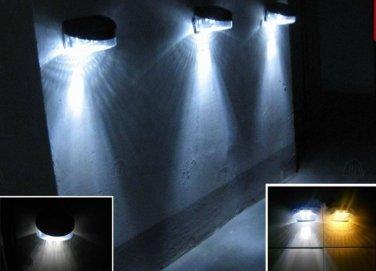Set of 3 wall Solar lights for  patio, lawn, balcony , keyhole
