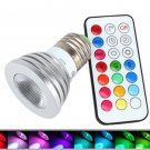 2 Million color E27 led with remote control 120 brightness levels