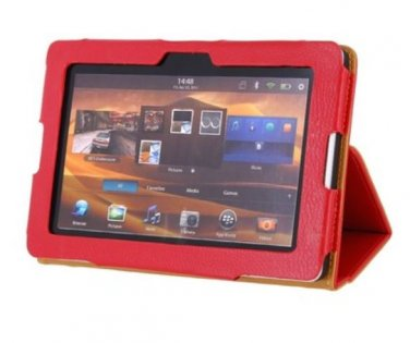 Epacket  Red Case Protector with Stand for Blackberry PlayBook Red