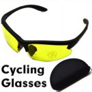E pack  Night Vision Yellow Lens Glasses for Cycling or car driving