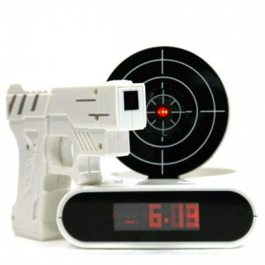 E-Pack   LCD Laser Gun Target Alarm Clock