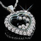 Floating Cubic Zirconia Pendant -You Are Special-