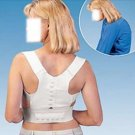 Magnetic Posture Support Corrector Back Pain Feel Young Brace Shoulder Belt  Large or XL