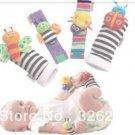 Lamaze Garden Bug Wrist Rattle Foot Socks  Rattle toys