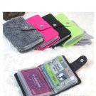 Womens  Pouch ID Credit Card Wallet Cash Holder Organizer Case Box