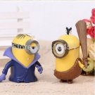 From the cavern to Bumgalow Minions of Ages Set of 6 Despictable me