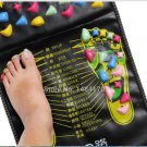 Pain Relieve Massager Mat Reflexology 69cm x35cm Walk Stone Foot Massage Pad Health Care